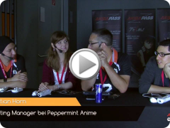 peppermint anime @ Aninite 2016 - Interview mit Jennifer Weiß